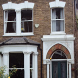 sash windows in Finsbury Park
