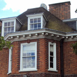 New bay windows in Hampstead Heath