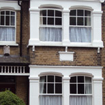 New bay windows near Palmers Green