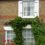 Sash windows in Romford