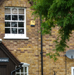 Sash windows in Welwyn Garden City